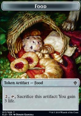 Throne of Eldraine: Food Token (017)