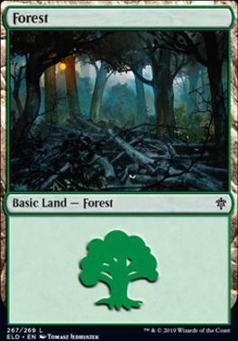 Throne of Eldraine: Forest (267 B)