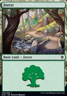 Throne of Eldraine: Forest (268 C)