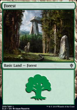 Throne of Eldraine: Forest (269 D)
