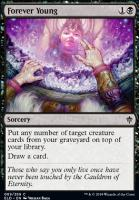 Throne of Eldraine Foil: Forever Young