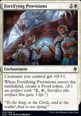 Throne of Eldraine: Fortifying Provisions