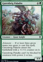 Throne of Eldraine Foil: Garenbrig Paladin