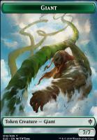 Throne of Eldraine: Giant Token