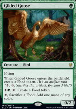Throne of Eldraine: Gilded Goose