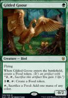Throne of Eldraine Foil: Gilded Goose