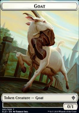 Throne of Eldraine: Goat Token
