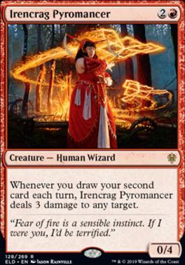 Throne of Eldraine: Irencrag Pyromancer