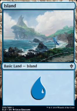 Throne of Eldraine: Island (255 B)