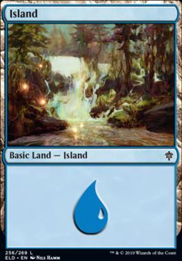 Throne of Eldraine: Island (256 C)
