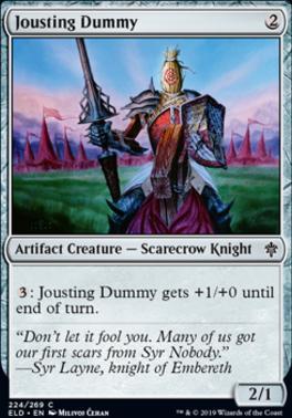 Throne of Eldraine: Jousting Dummy