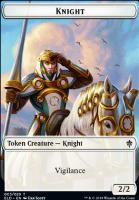 Throne of Eldraine Foil: Knight Token