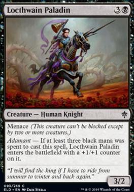 Throne of Eldraine: Locthwain Paladin