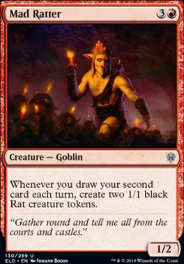 Throne of Eldraine Foil: Mad Ratter