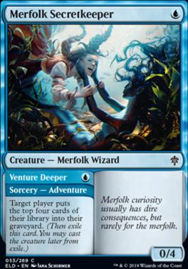 Throne of Eldraine: Merfolk Secretkeeper