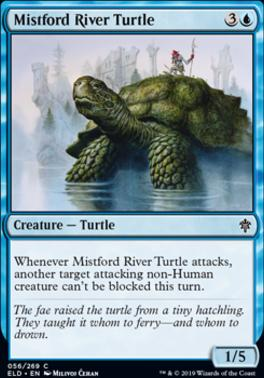 Throne of Eldraine: Mistford River Turtle