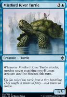 Throne of Eldraine Foil: Mistford River Turtle