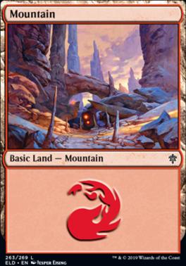 Throne of Eldraine: Mountain (263 B)