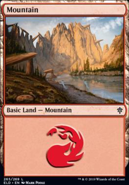Throne of Eldraine: Mountain (265 D)