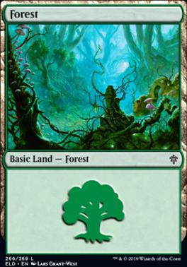 Throne of Eldraine: Forest (266 A)