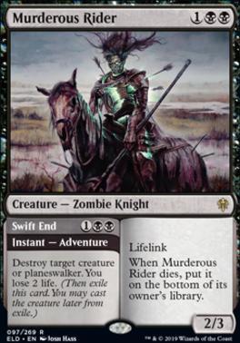 Throne of Eldraine: Murderous Rider