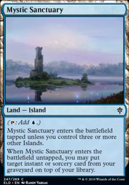 Throne of Eldraine: Mystic Sanctuary