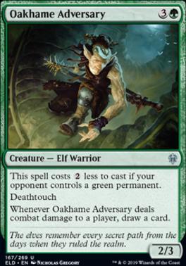 Throne of Eldraine: Oakhame Adversary