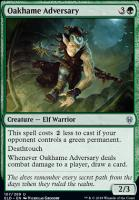 Throne of Eldraine: Oakhame Adversary