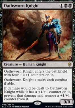 Throne of Eldraine Foil: Oathsworn Knight