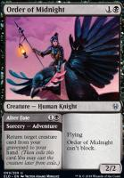 Throne of Eldraine Foil: Order of Midnight