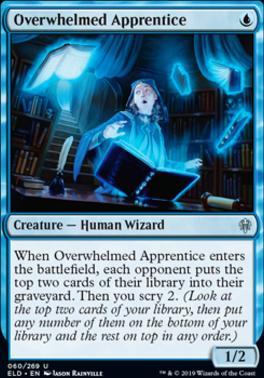 Throne of Eldraine: Overwhelmed Apprentice