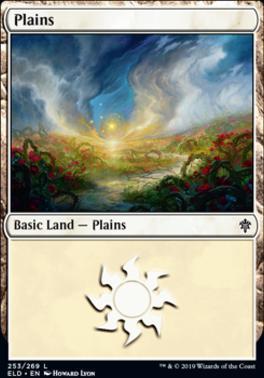 Throne of Eldraine: Plains (253 D)