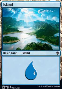 Throne of Eldraine: Island (254 A)