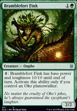 NM//M the Trickster Throne of Eldraine Oko M MTG Magic -