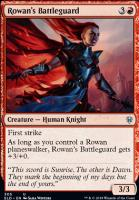 Fearless Sparkmage Rowan FOIL Throne of Eldraine NM Planeswalker Deck