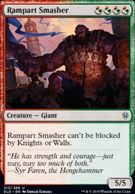 Throne of Eldraine: Rampart Smasher
