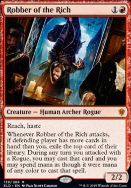Throne of Eldraine: Robber of the Rich