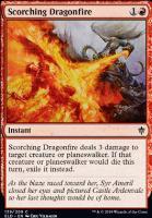 Throne of Eldraine Foil: Scorching Dragonfire