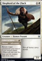 Throne of Eldraine: Shepherd of the Flock