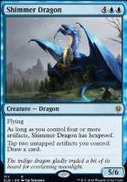 Throne of Eldraine: Shimmer Dragon (Brawl Deck Card)