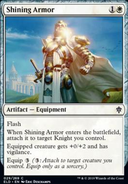 Throne of Eldraine: Shining Armor