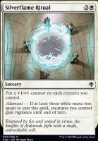 Throne of Eldraine Foil: Silverflame Ritual