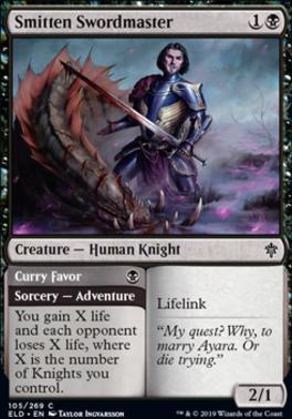 Throne of Eldraine: Smitten Swordmaster