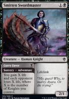 Throne of Eldraine Foil: Smitten Swordmaster