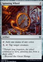 Throne of Eldraine Foil: Spinning Wheel