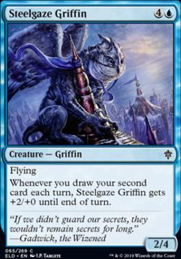 Throne of Eldraine: Steelgaze Griffin