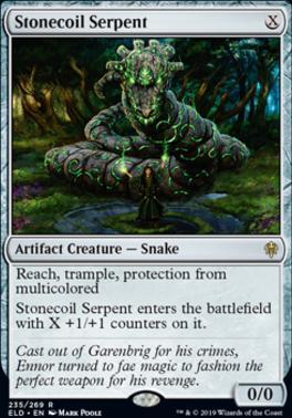 Throne of Eldraine: Stonecoil Serpent