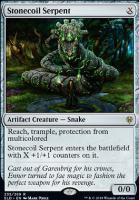 Throne of Eldraine Foil: Stonecoil Serpent