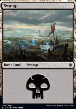 Throne of Eldraine: Swamp (259 B)