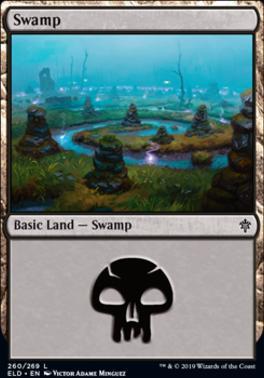 Throne of Eldraine: Swamp (260 C)
